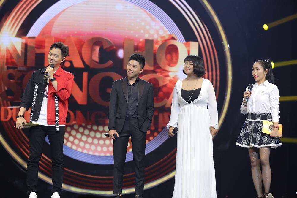 Sau ly hôn, Hồng Nhung rạng rỡ tham gia Nhạc hội song ca mùa 2 - Ảnh 8.