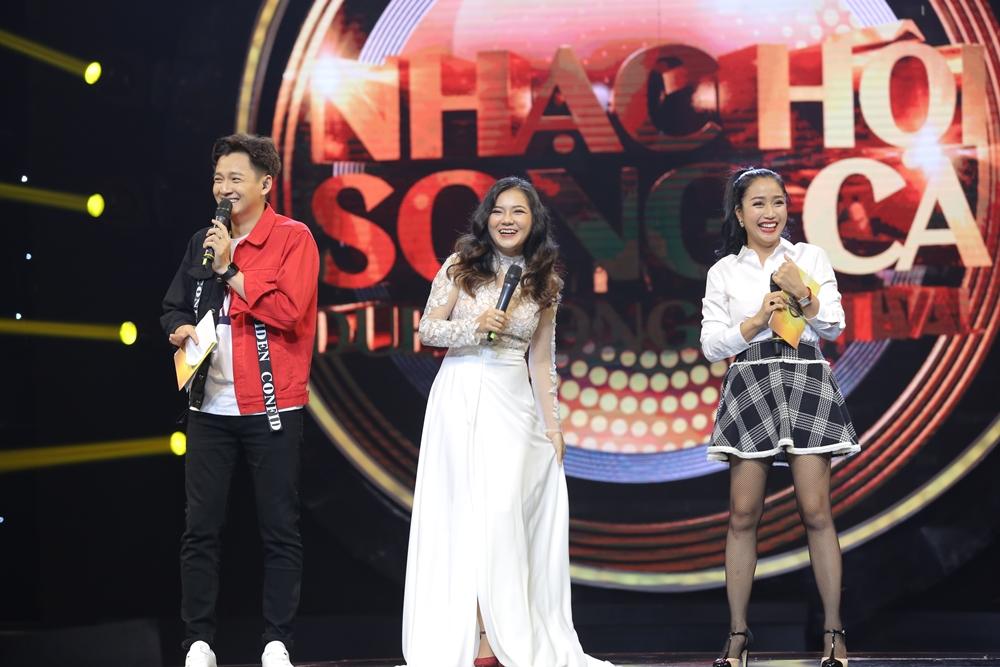 Sau ly hôn, Hồng Nhung rạng rỡ tham gia Nhạc hội song ca mùa 2 - Ảnh 9.