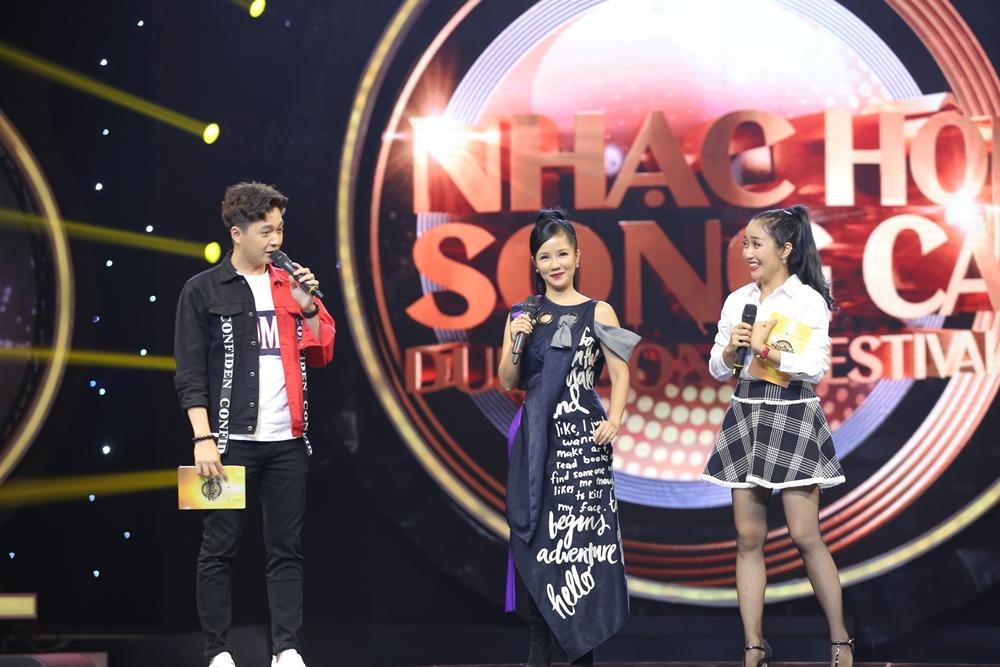 Sau ly hôn, Hồng Nhung rạng rỡ tham gia Nhạc hội song ca mùa 2 - Ảnh 12.