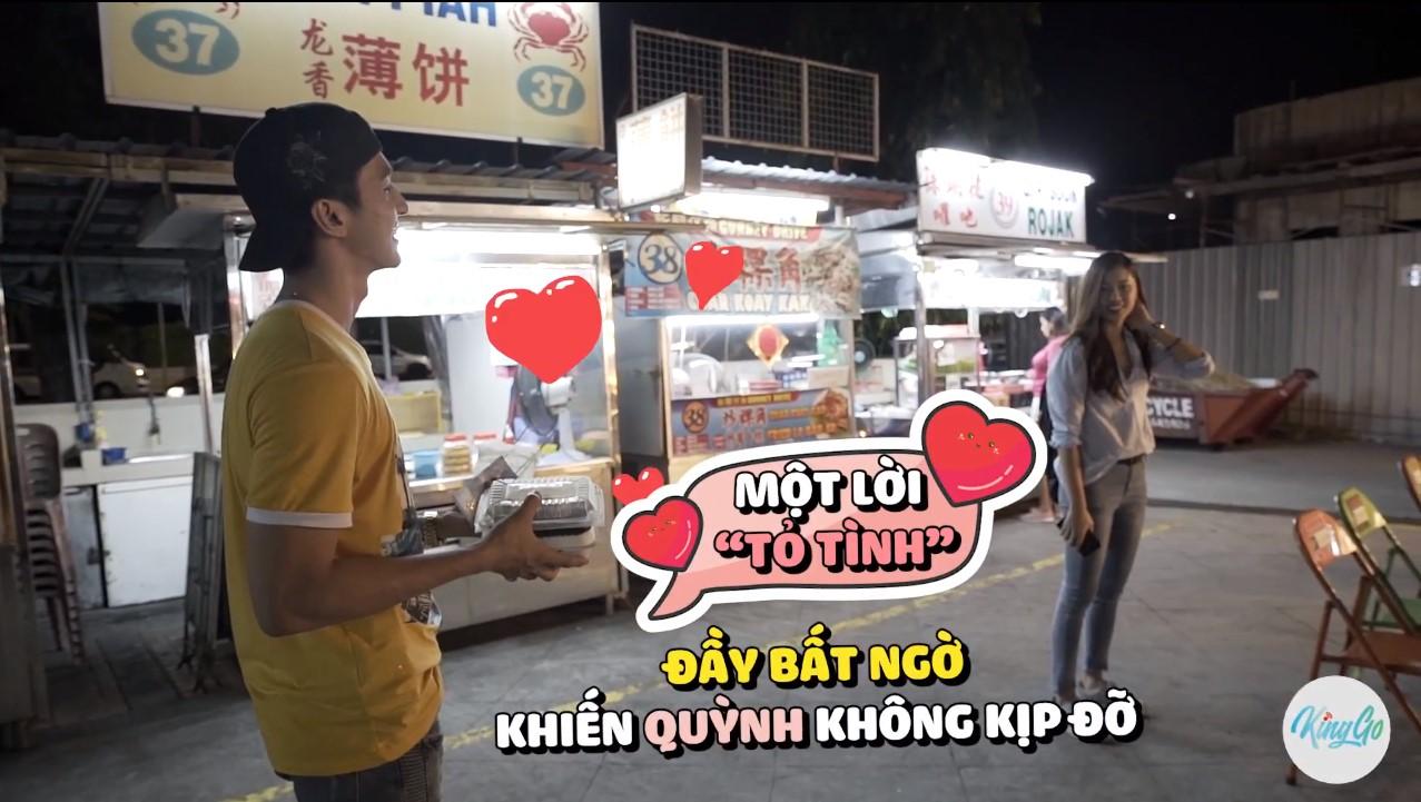 """Bình An bất ngờ """"tỏ tình"""" với Đồng Ánh Quỳnh trong tập 2 Trải nghiệm Malaysia đa sắc màu - Ảnh 2."""