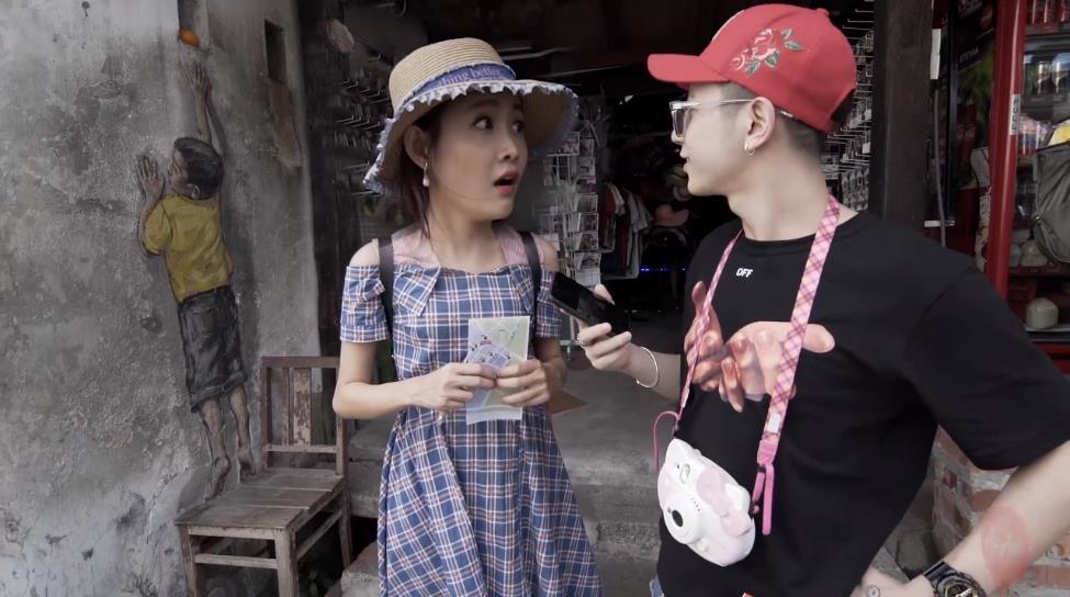 """Bình An bất ngờ """"tỏ tình"""" với Đồng Ánh Quỳnh trong tập 2 Trải nghiệm Malaysia đa sắc màu - Ảnh 9."""