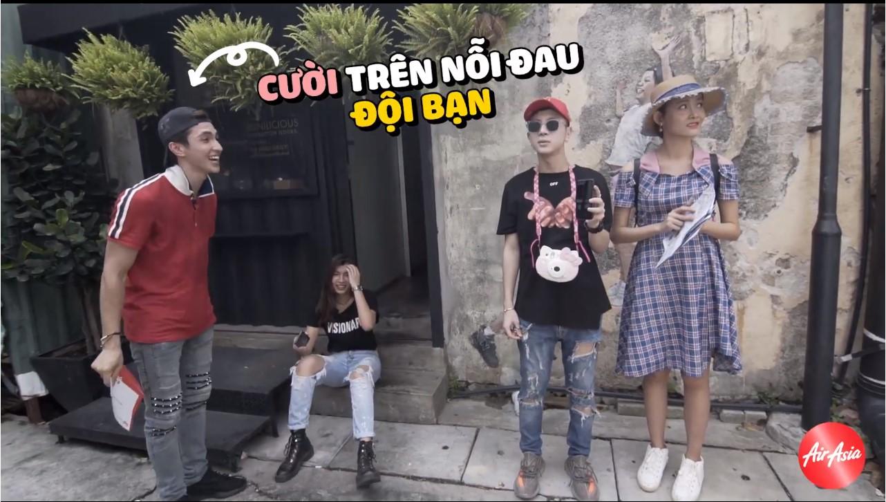 """Bình An bất ngờ """"tỏ tình"""" với Đồng Ánh Quỳnh trong tập 2 Trải nghiệm Malaysia đa sắc màu - Ảnh 10."""