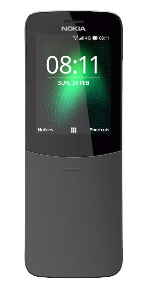 """Điện thoại """"chuối"""" Nokia 8110 4G đã được cập nhật và tối ưu hơn trước - Ảnh 1."""