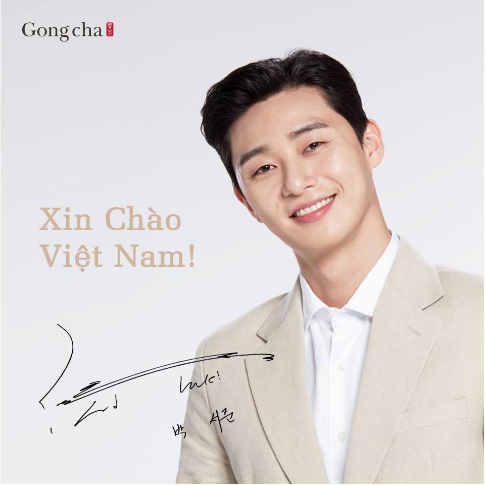 Park Seo Juntrở thành gương mặt đồng hành cùng thương hiệu Gong Cha Việt Nam - Ảnh 1.