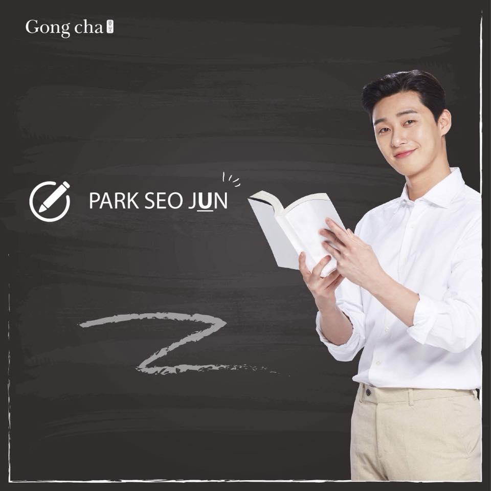 Park Seo Juntrở thành gương mặt đồng hành cùng thương hiệu Gong Cha Việt Nam - Ảnh 2.