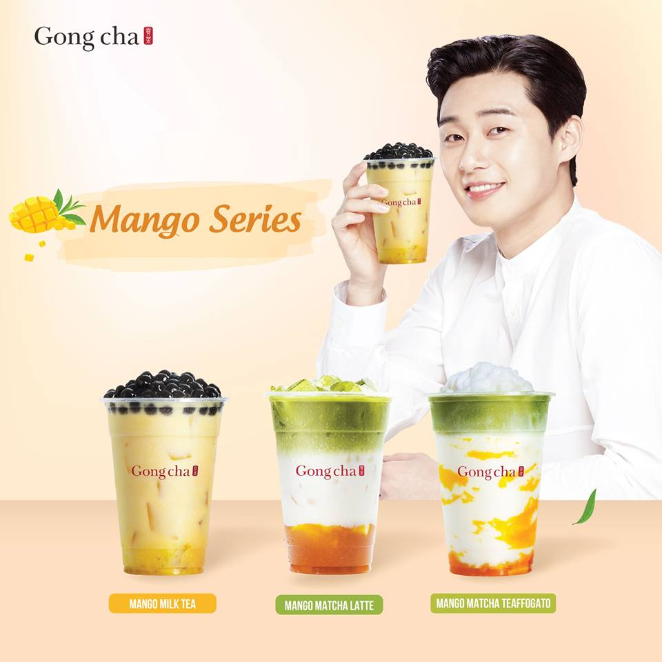 Park Seo Juntrở thành gương mặt đồng hành cùng thương hiệu Gong Cha Việt Nam - Ảnh 3.