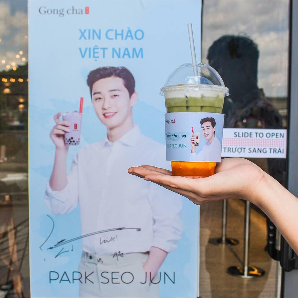 Park Seo Juntrở thành gương mặt đồng hành cùng thương hiệu Gong Cha Việt Nam - Ảnh 5.