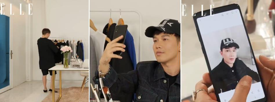 An Phương, Hoàng Ku, Minh Ngọc, Thành Long trang điểm cuống cuồng mà lên hình vẫn đẹp nhờ Galaxy A8 Star - Ảnh 4.