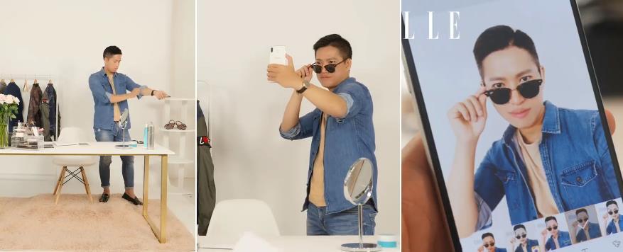 An Phương, Hoàng Ku, Minh Ngọc, Thành Long trang điểm cuống cuồng mà lên hình vẫn đẹp nhờ Galaxy A8 Star - Ảnh 5.