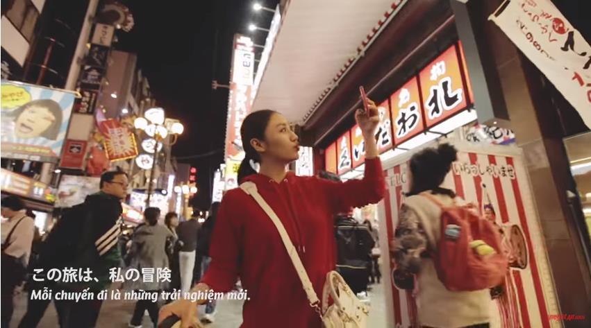 """Khám phá Osaka tuyệt đẹp qua MV """"Never Worry"""" của Văn Mai Hương - Ảnh 4."""