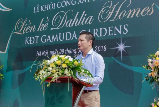 Khởi công dự án liền kề Dahlia Homes - Khu đô thị Gamuda Gardens - ảnh 3