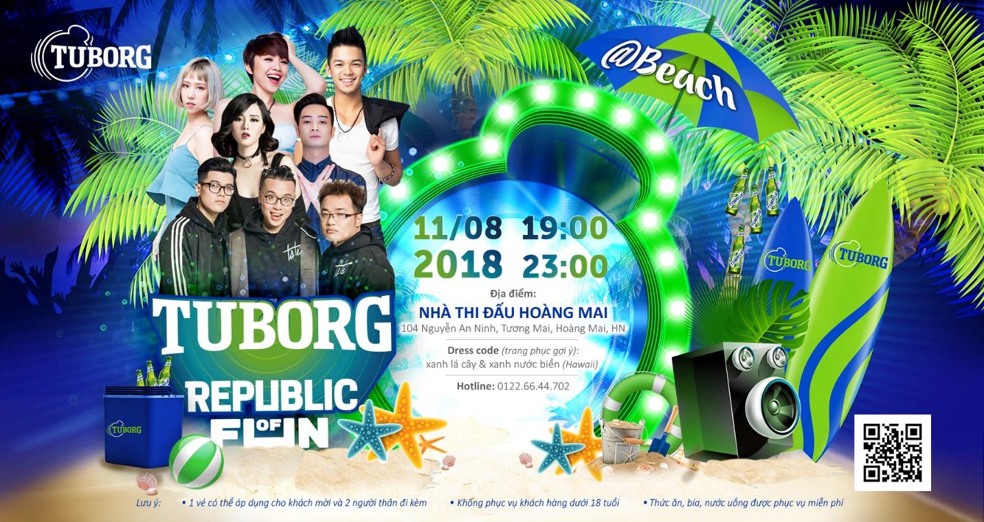 Tuborg Republic of Fun đổ bộ Hà Nội và 1001 lí do bạn không thể bỏ lỡ đại tiệc này - Ảnh 4.