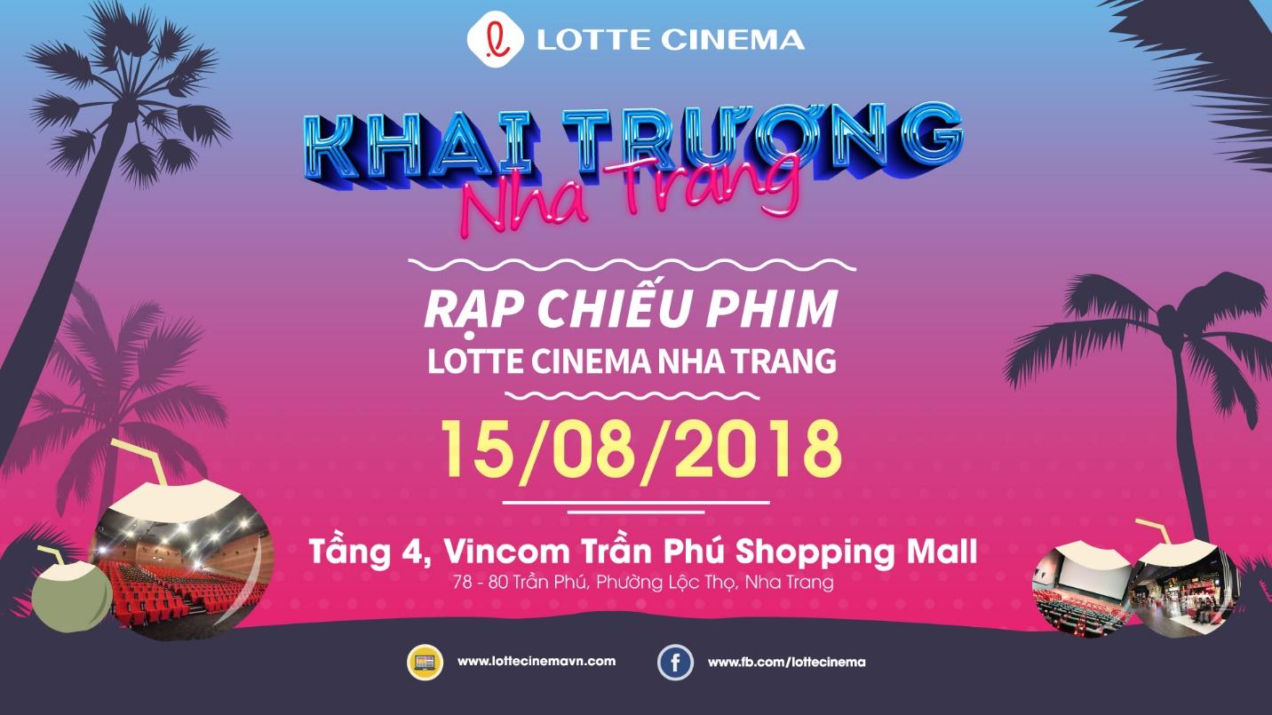 Khai trương cụm rạp Lotte Cinema Nha Trang với ưu đãi mua 1 tặng 1 - Ảnh 1.