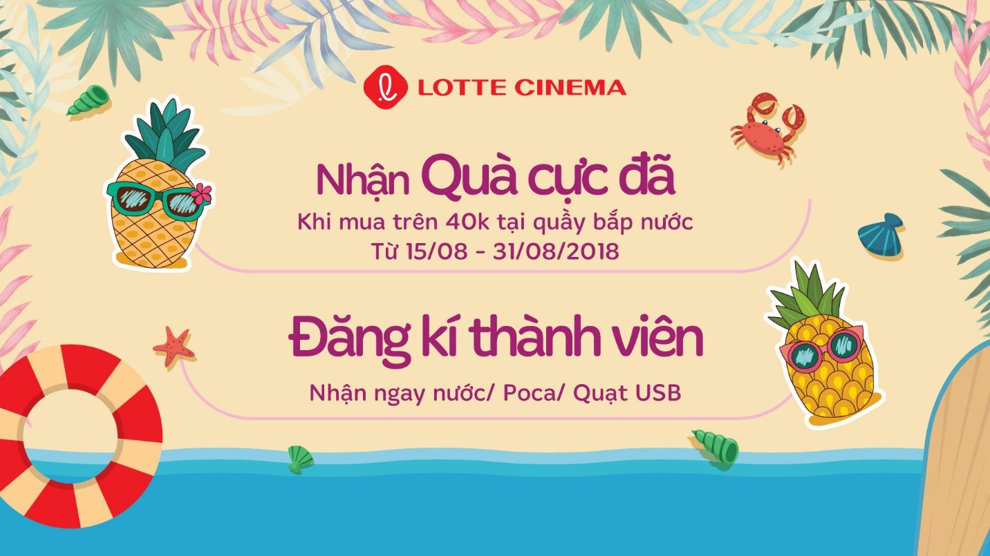 Khai trương cụm rạp Lotte Cinema Nha Trang với ưu đãi mua 1 tặng 1 - Ảnh 5.