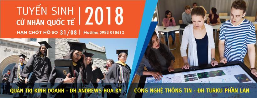 Viện Đào tạo quốc tế - ĐH Quốc gia TP.HCM xét tuyển cử nhân bằng học bạ - Ảnh 1.