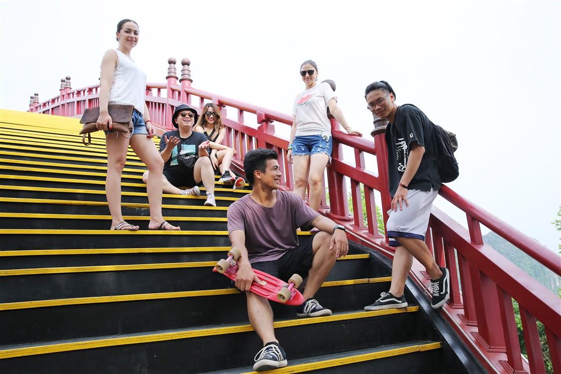 Sau cầu Vàng Đà Nẵng, cầu Koi Hạ Long đang được rầm rộ check in- Ảnh 4.