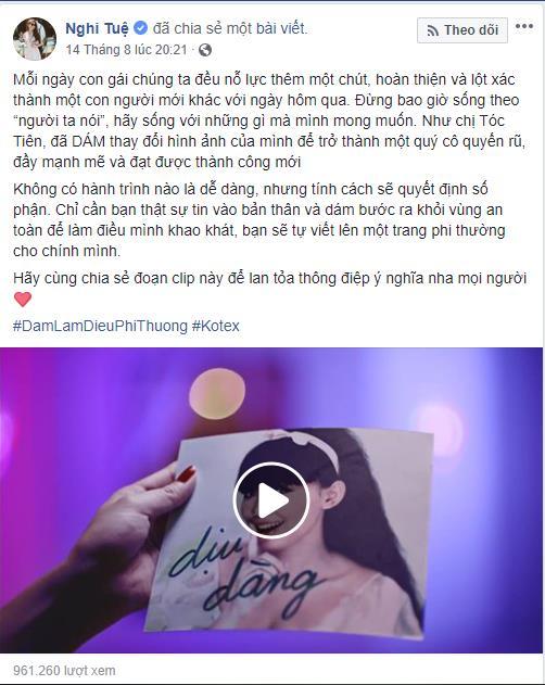 Ngô Thanh Vân, Hương Giang, H'Hen Niê và loạt sao Việt xúc động vì câu chuyện phi thường của Hoàng Thùy, Tóc Tiên - Ảnh 8.