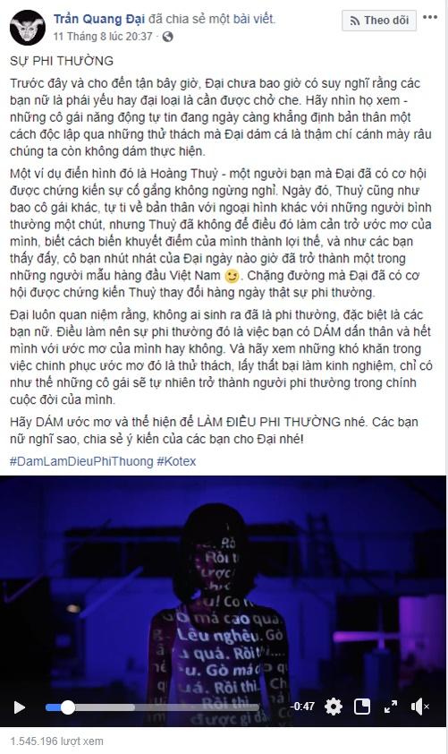 Ngô Thanh Vân, Hương Giang, H'Hen Niê và loạt sao Việt xúc động vì câu chuyện phi thường của Hoàng Thùy, Tóc Tiên - Ảnh 10.