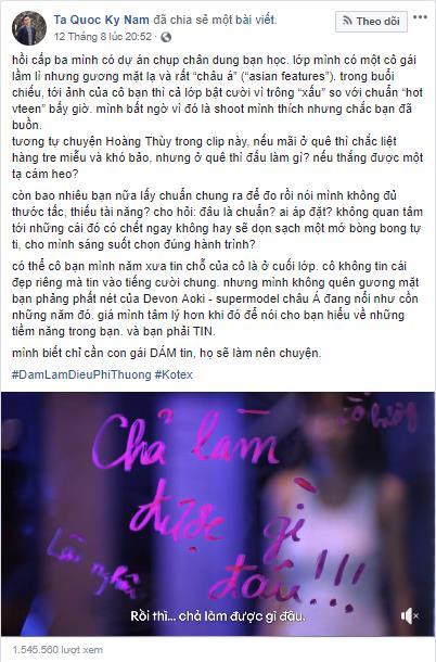 Ngô Thanh Vân, Hương Giang, H'Hen Niê và loạt sao Việt xúc động vì câu chuyện phi thường của Hoàng Thùy, Tóc Tiên - Ảnh 12.
