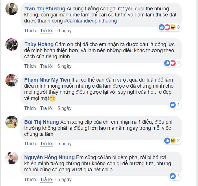 Ngô Thanh Vân, Hương Giang, H'Hen Niê và loạt sao Việt xúc động vì câu chuyện phi thường của Hoàng Thùy, Tóc Tiên - Ảnh 14.