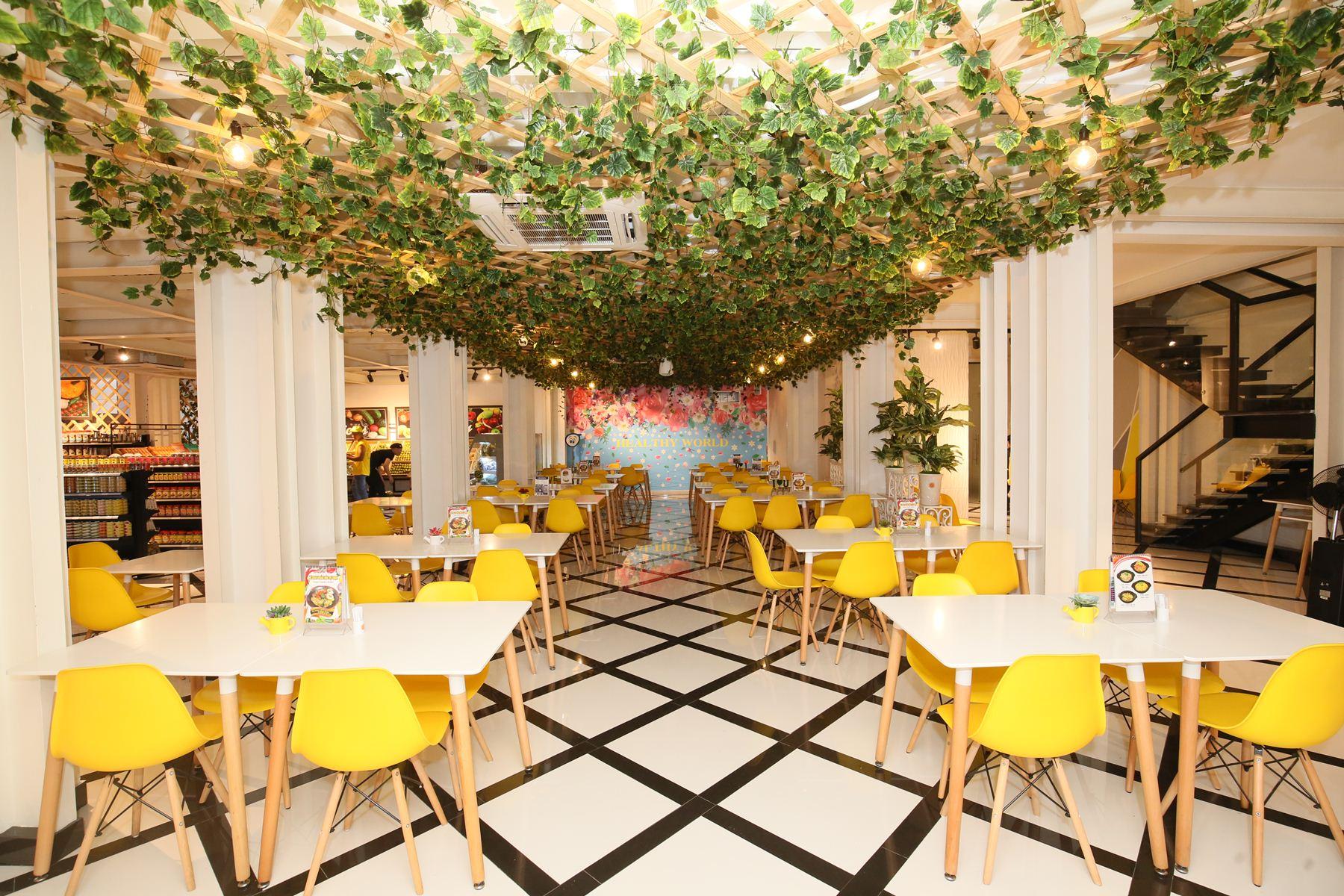 Nhà hàng Âu Lạc Healthy World thu hút các bạn trẻ với buffet hơn 150 món chay - Ảnh 4.