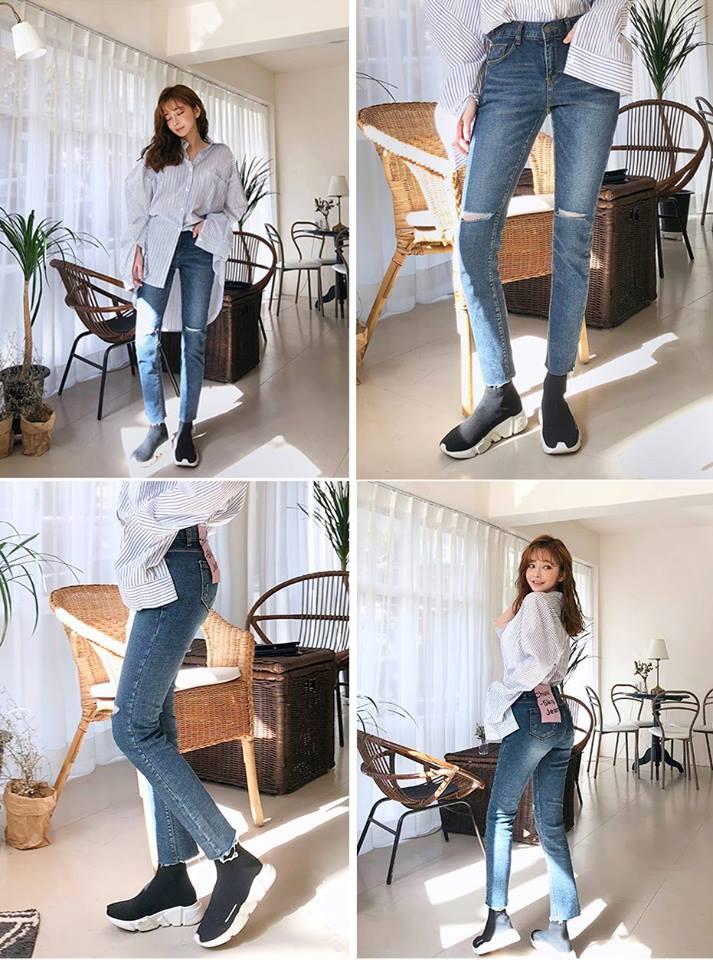 """Khám phá """"đại bản doanh"""" của dòng quần jeans -5kg gây sốt khắp thế giới - Ảnh 5."""