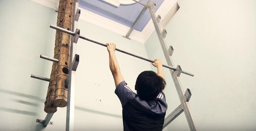 """""""Sasuke Việt Nam tập 3"""": Cảm phục nghị lực phi thường của chiến binh khuyết tật Hà Việt Anh - Ảnh 2."""