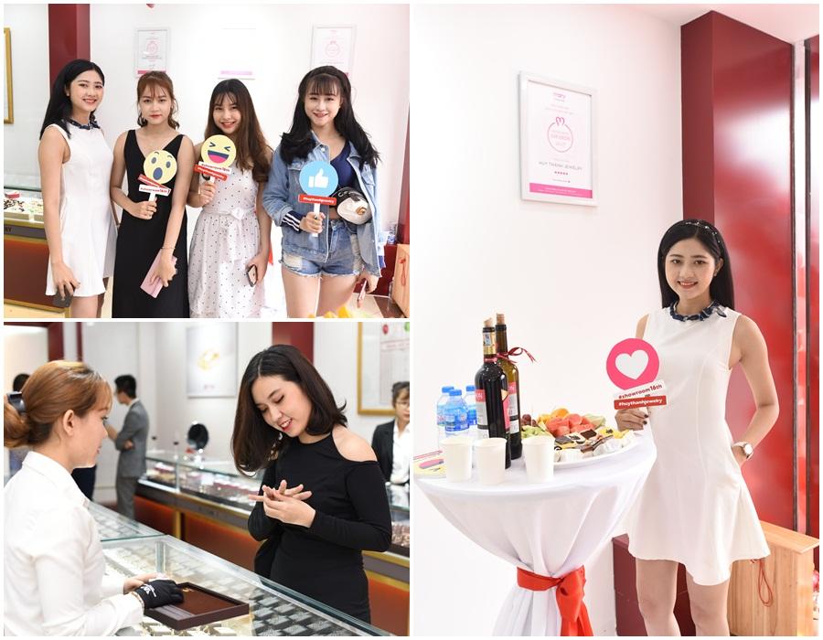 Giới trẻ Thái Nguyên háo hức chào đón sự kiện khai trương Huy Thanh Jewelry - Ảnh 5.