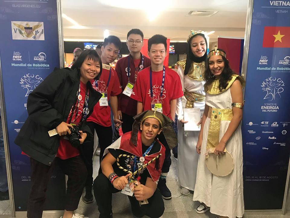 Teen FPT mang robot Việt, chuồn chuồn tre đi thi đấu quốc tế, kết quả thật bất ngờ - Ảnh 3.