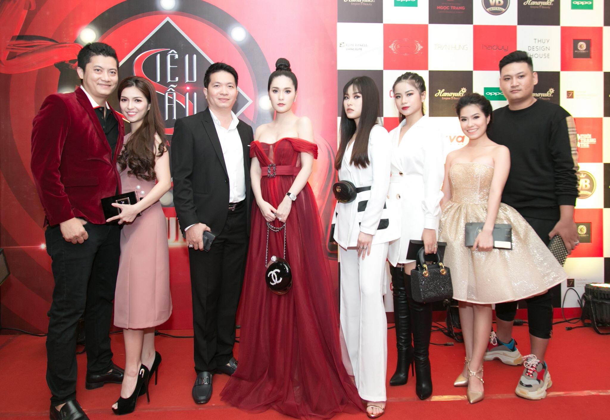 Di Băng tỏa sáng giữa dàn sao đêm chung kết Siêu Mẫu Việt 2018 - Ảnh 4.