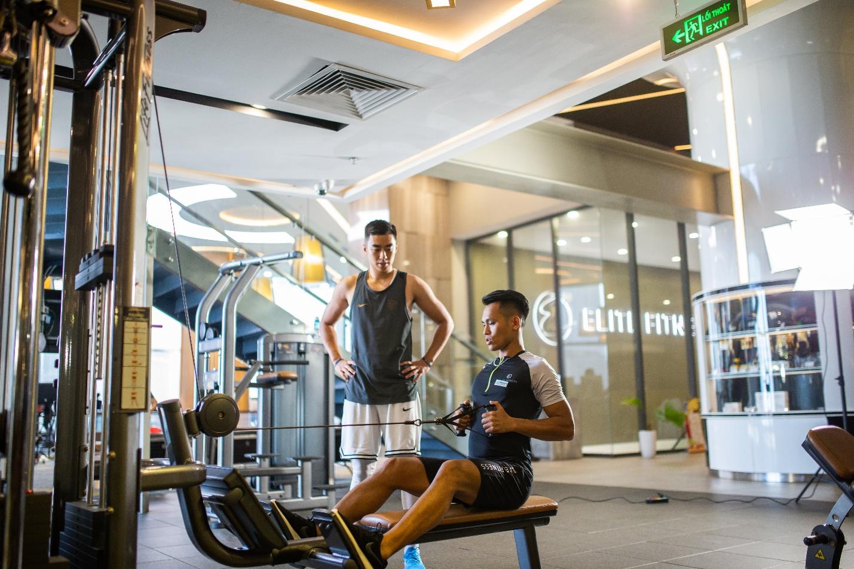 Theo chân hot boy bóng rổ Stefan Nguyễn đến phòng tập triệu đô giữa lòng Hà Nội - Ảnh 7.