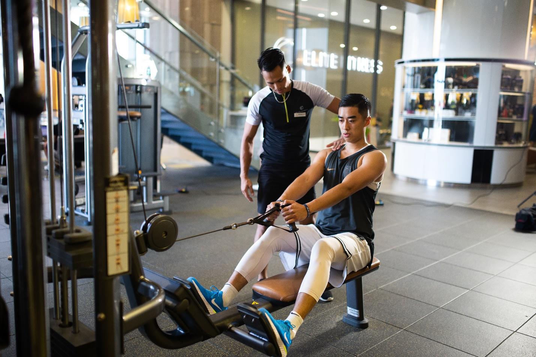 Theo chân hot boy bóng rổ Stefan Nguyễn đến phòng tập triệu đô giữa lòng Hà Nội - Ảnh 8.