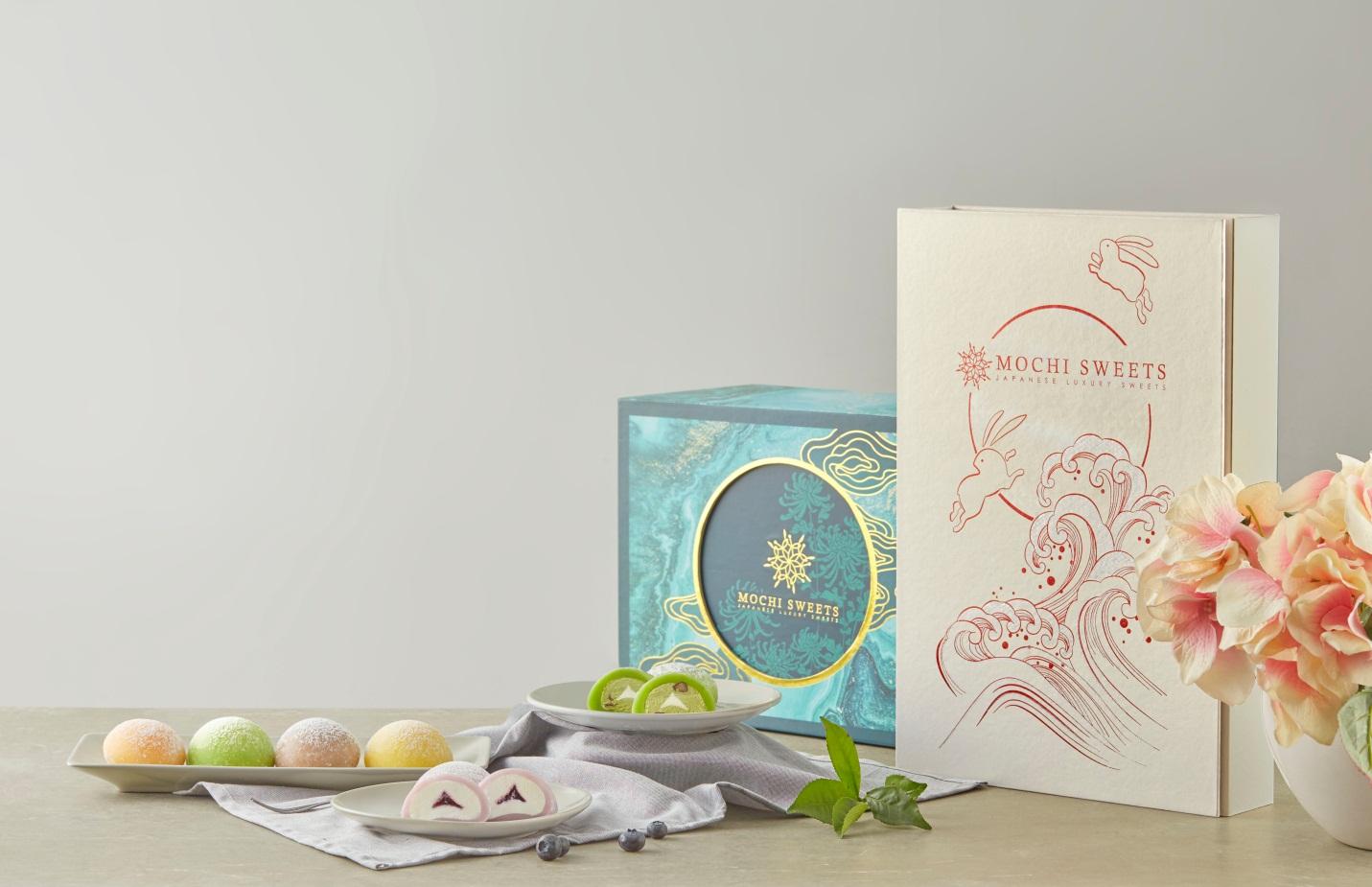 Hộp quà tặng Trung thu Mochi Sweets - Nét cổ truyền trong lòng hiện đại - Ảnh 1.