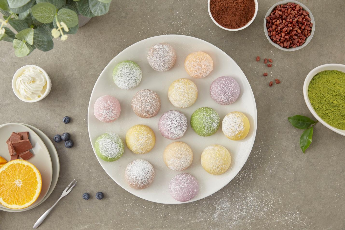 Hộp quà tặng Trung thu Mochi Sweets - Nét cổ truyền trong lòng hiện đại - Ảnh 2.