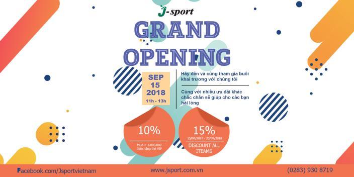 J - SPORT sắp khai trương cửa hàng đầu tiên ở Việt Nam - Ảnh 1.