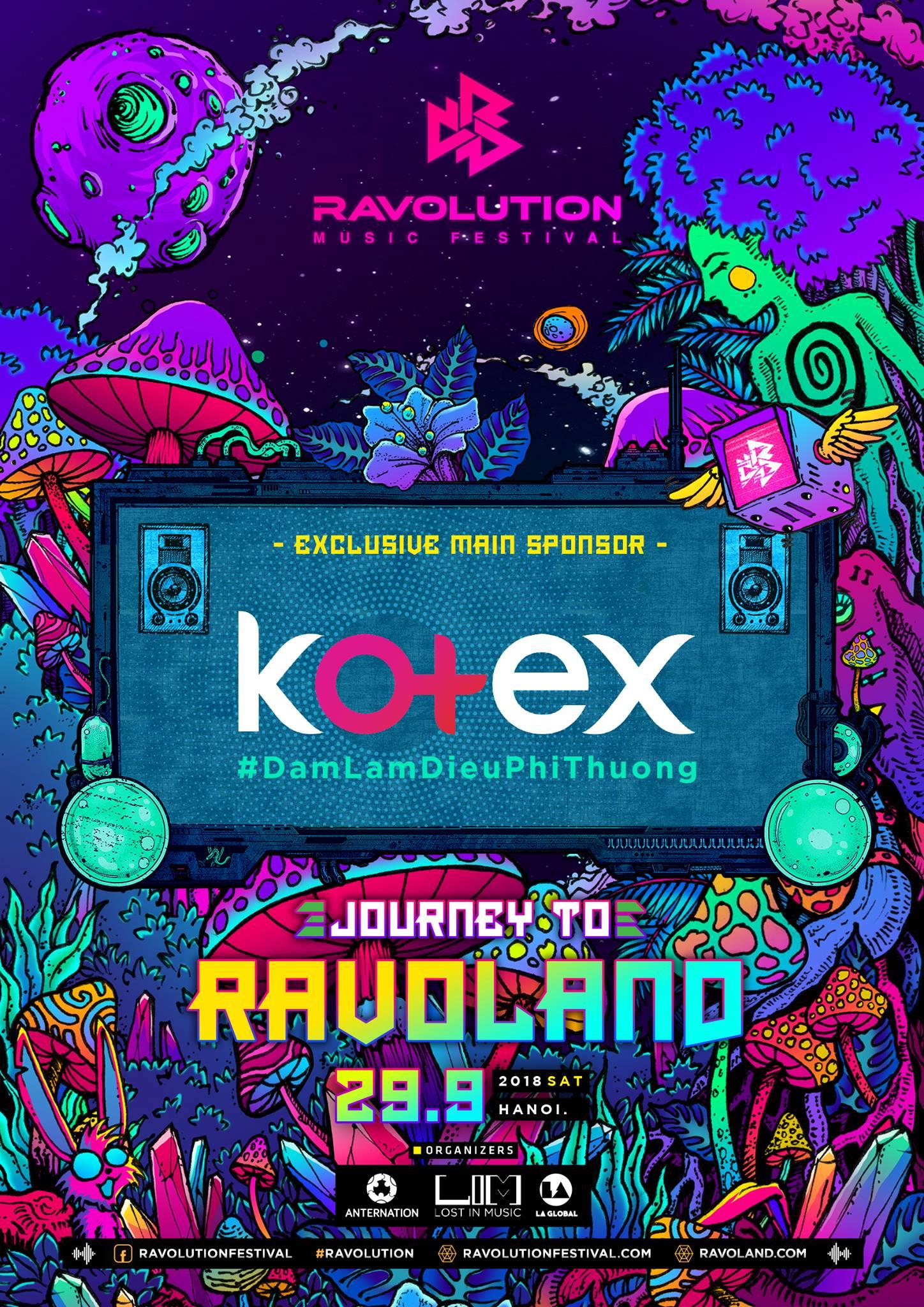 Kotex truyền cảm hứng tới các ravers nữ trong chuỗi sự kiện Road To Ravolution tại 2 thành phố lớn - Ảnh 1.