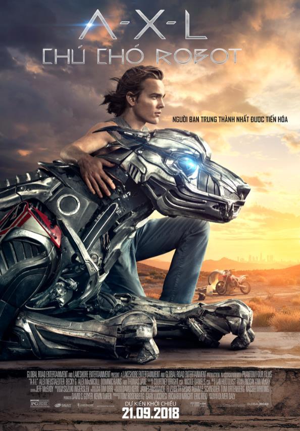 A-X-L chú chó Robot - Bộ phim thú vị về chú chó máy trung thành - Ảnh 1.