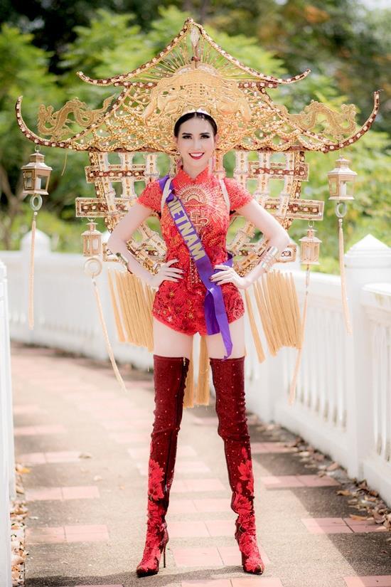 Đăng quang chưa lâu, Tân Hoa hậu Đại sứ Du lịch Thế giới dính nghi án phẫu thuật thẩm mỹ - Ảnh 2.