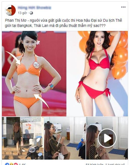 Đăng quang chưa lâu, Tân Hoa hậu Đại sứ Du lịch Thế giới dính nghi án phẫu thuật thẩm mỹ - Ảnh 3.