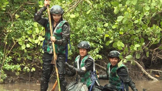 CBTHM: Màn thủy chiến sống còn của team Huỳnh Tiên và Rima Thanh Vy - Ảnh 12.