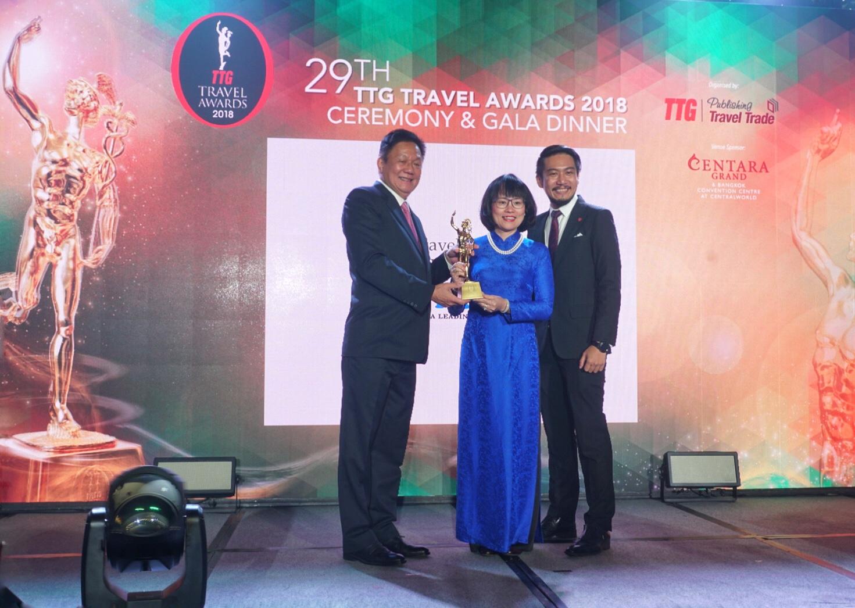 Vietravel 7 lần đạt giải thưởng TTG Travel Awards - Ảnh 1.