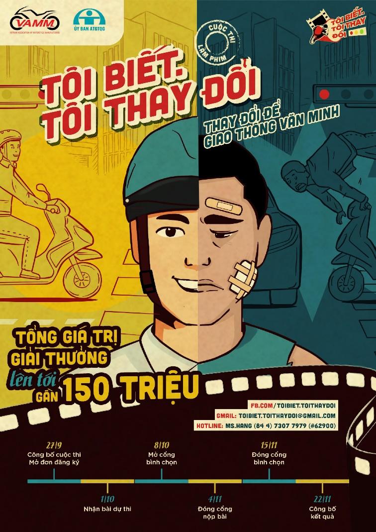 Thi làm phim an toàn giao thông, nhận giải thưởng gần 150 triệu đồng - Ảnh 3.