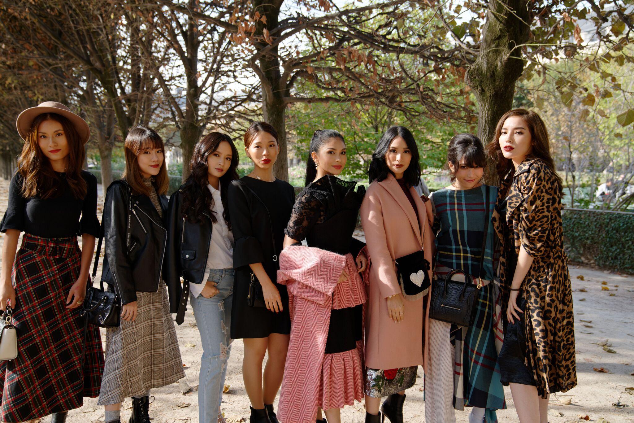 Đệ nhất rich-kid châu Á Evangelista Heart, Mai Davika Hoorne, Kỳ Duyên cùng dàn người đẹp quy tụ tại Paris Fashion Week - Ảnh 16.