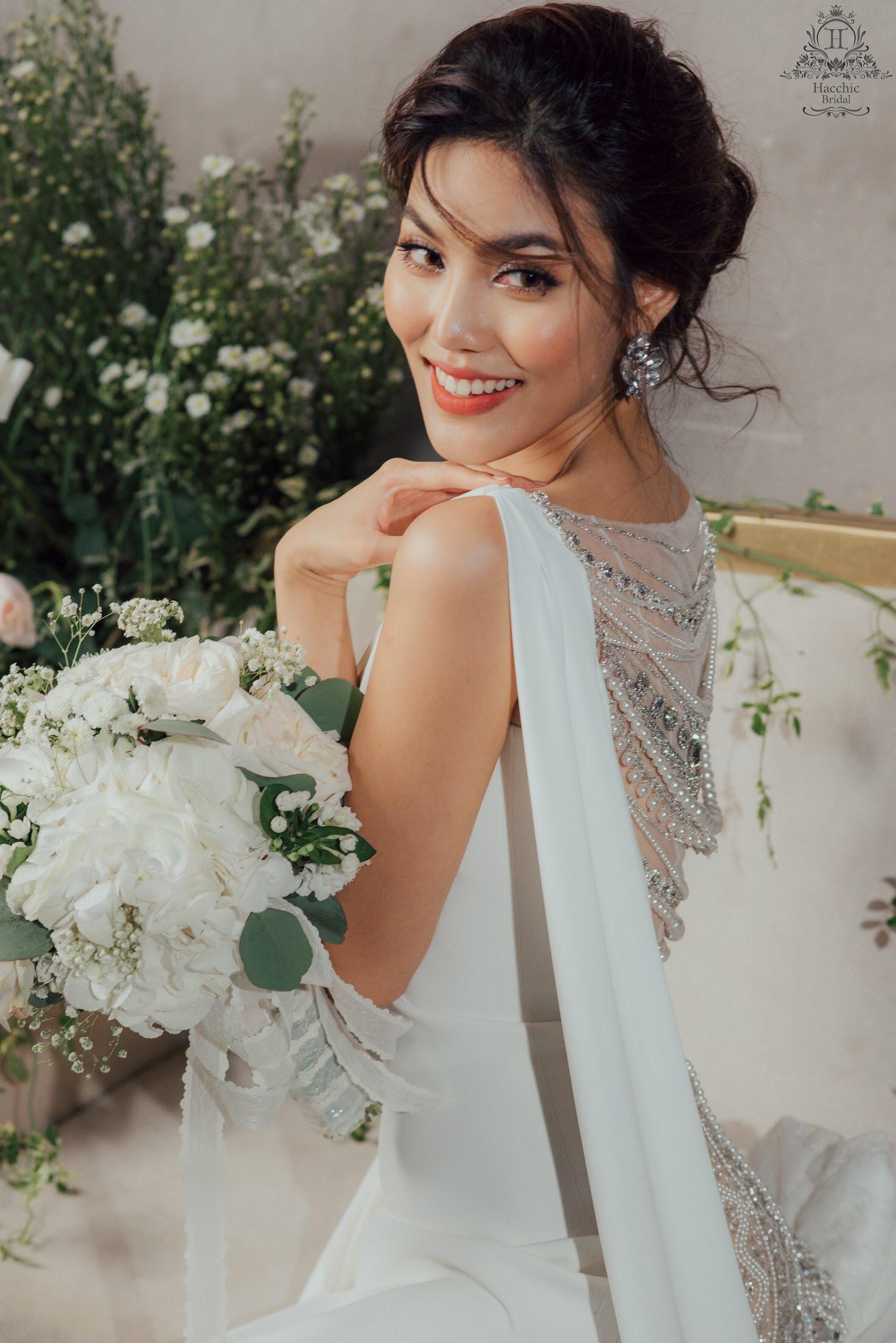 Váy cưới chính thức của Lan Khuê trị giá tới 500 triệu đồng đã được tiết lộ - Ảnh 8.