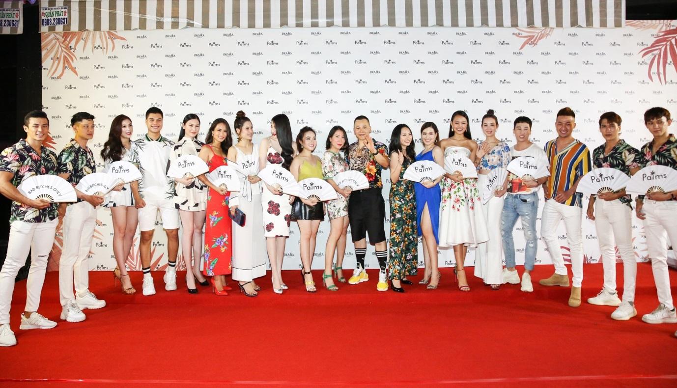 Dàn người đẹp diện trang phục màu sắc đến chúc mừng Vũ Khắc Tiệp - Ảnh 15.