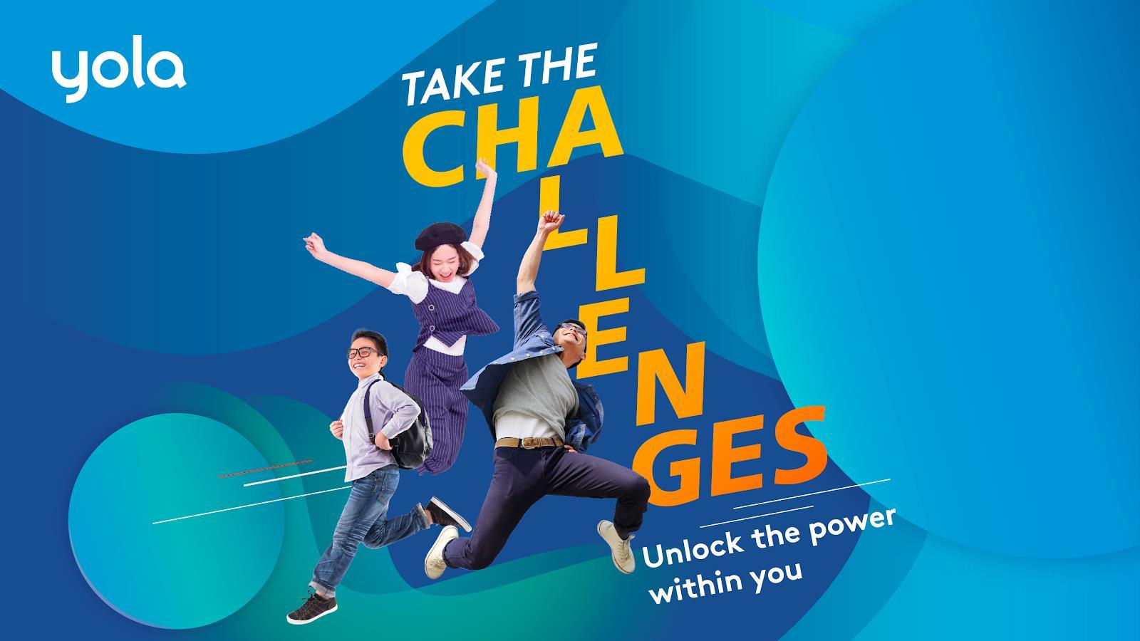 Take the challenges: Chấp nhận thử thách - Vượt qua giới hạn - Ảnh 1.