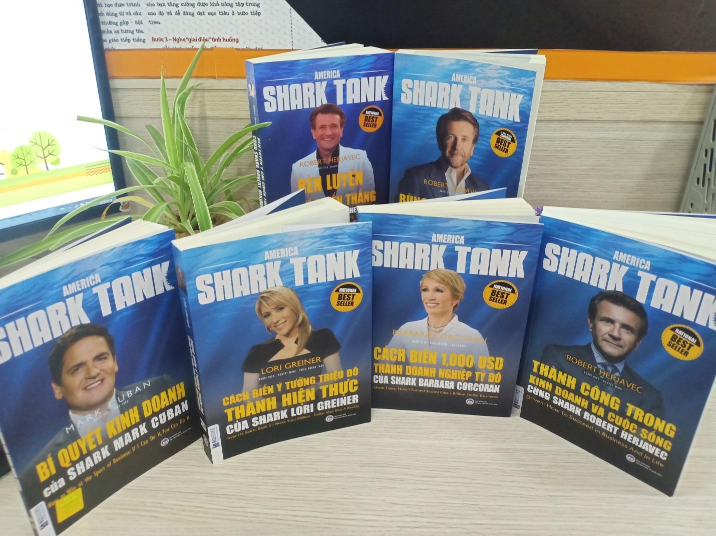 Shark Hưng: Từ review thú vị về bộ sách America Shark Tank đến lời khuyên start up thực tế - Ảnh 2.
