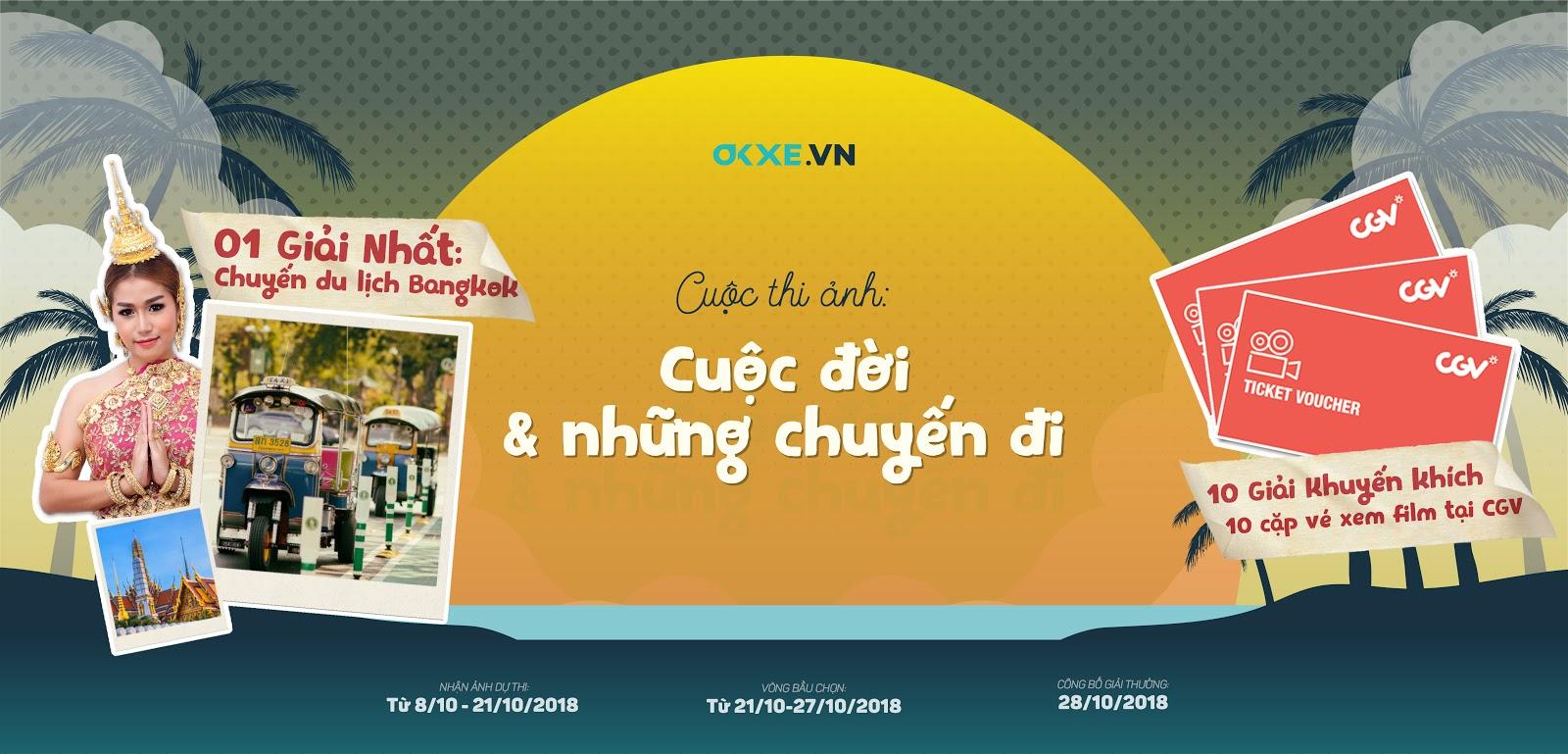 Tham gia cuộc thi ảnh cực chất cùng OKXE và rinh ngay chuyến du lịch Bangkok, Thái Lan - Ảnh 1.