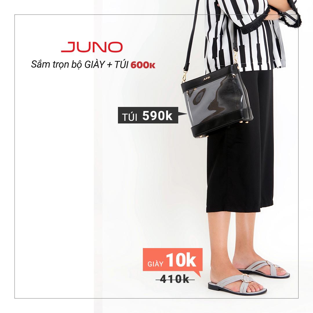 Phái đẹp chao đảo vì trọn bộ giày túi chỉ 600k của Juno - Ảnh 4.