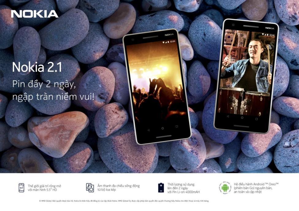 """Công nghệ hiện đại, có Nokia 2.1 sẽ bớt """"hại điện"""" - Ảnh 1."""